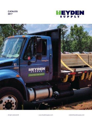 Heyden Supply Catalog