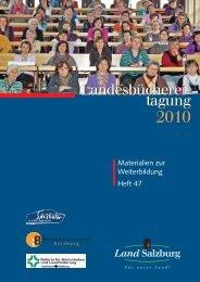 Materialien zur Weiterbildung im Land Salzburg - Salzburg.at