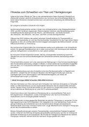 Hinweise zum Schweißen von Titan - ISO Schweisstechnik AG