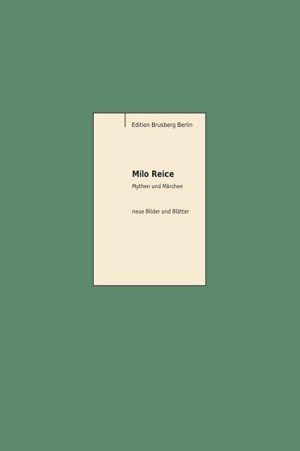 Milo Reice - Brusberg Berlin
