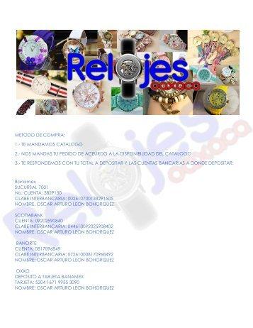CATALOGO RELOJES 10-05-17