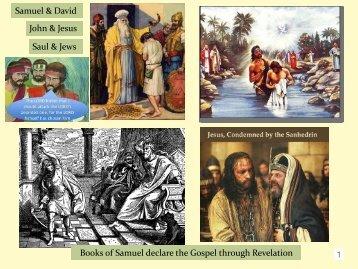 Parallels in Samuel: Samuel to John & David to Christ