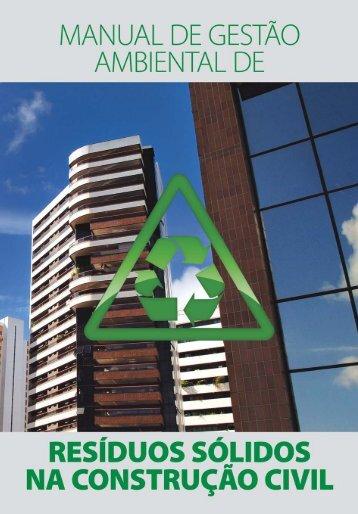 MANUAL DE GESTÃO AMBIENTAL.PMD - Sinduscon-PA