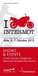 5. OKT 2014 SAVE THE DATE! - Intermot