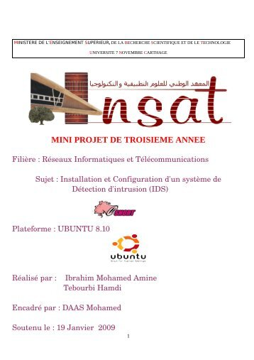 MINI PROJET DE TROISIEME ANNEE - Zenk - Security - Repository