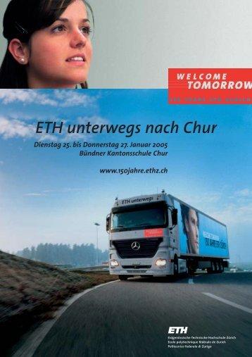 ETH unterwegs nach Chur - 150 Jahre ETH Zürich