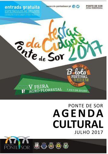 Agenda Cultural julho 2017