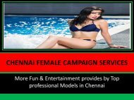 Sexiest and attractive escorts ladies in Chennai at Viniyer Book now