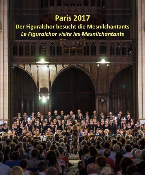 Chorfahrt Paris 2017