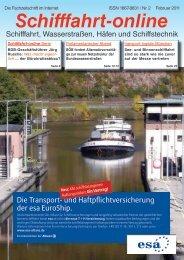 Die Transport - Schifffahrt online