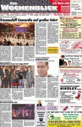 Lokales Vereinsnachrichten Geschäftsmitteiiungen ... - Wochenblick