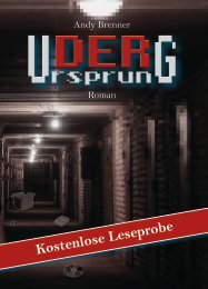 Leseprobe zum Roman von Andy Brenner - Der Ursprung