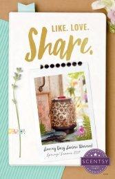 Spring/Summer Scentsy Catalogue CANADA