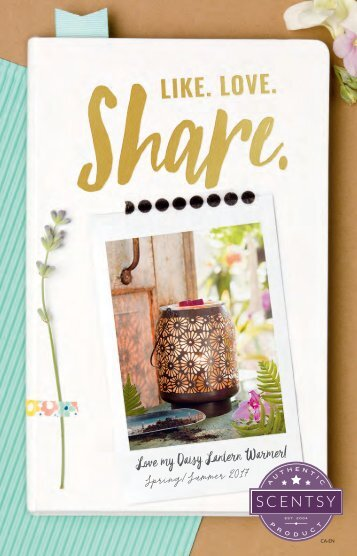 Spring/Summer Scentsy Catalogue CANADA