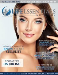 Life Essentials Magazine - July 2017