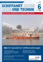 magazin für intermodalen transport und logistik - Schiffahrt und ...