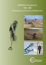 Erster Großauftrag und neuer Mitarbeiter - Ebinger GmbH