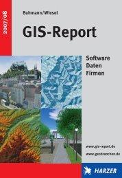 GIS Report 2007/2008 - GeoBranchen