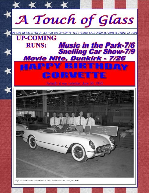 Central Valley Corvettes - July 2017