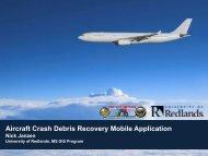 Testing (continued) - Mojave Data Ecosystem Program