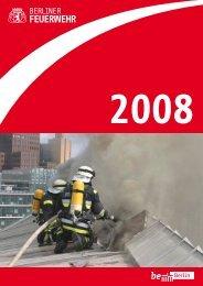Berliner Feuerwehr Annual 2008