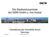 Interne Vermietung zu Marktkonditionen - speedikon FM AG