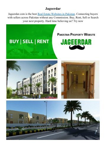 Real Estate Websites in Pakistan