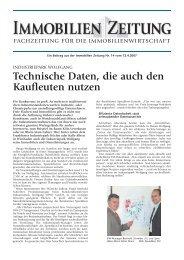 Technische Daten, die auch den Kaufleuten ... - speedikon FM AG