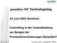 Provinzial - speedikon FM AG