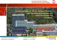 Gesellschaft für Montan- und Bautechnik mbH - speedikon FM AG