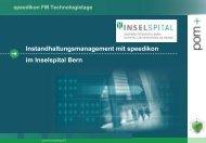 Konzept Auftragsmanagement (Helpdesk) - speedikon FM AG