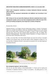Modern Lease Management and Service ... - speedikon FM AG