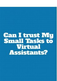 Can I Trust My Small Tasks to Virtual Assistant?