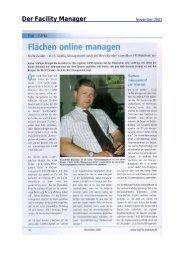 Der Facility Manager - speedikon FM AG