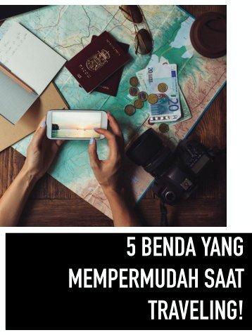 Tiket2 - 5 Benda yang Mempermudah saat traveling