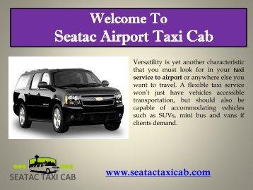 Taxi Cab in Redmond