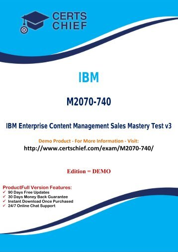 M2070-740 Certification Exam Material