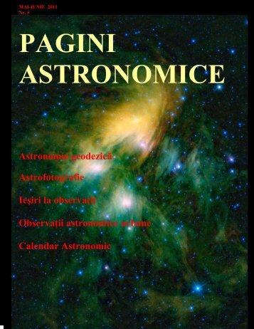 PAGI I ASTRO OMICE - Societatea Astronomica Andromeda