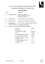 Bantam B22J - Civil Aviation Authority