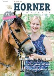 HORNER Magazin | Juli-August 2017