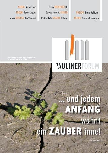 MITGLIED - Paulinerverein