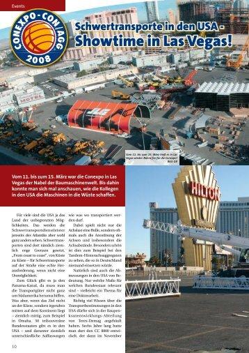 Showtime in Las Vegas!