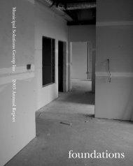 2003 MSGI Annual Report