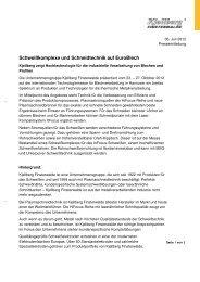 Text Deutsch - Kjellberg Finsterwalde