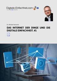 #1 PDF Digitale Einfachheit - Das Internet der Dinge und die digitale Einfachheit #1