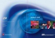 Jahrbuch 2009 - Laser Zentrum Hannover eV