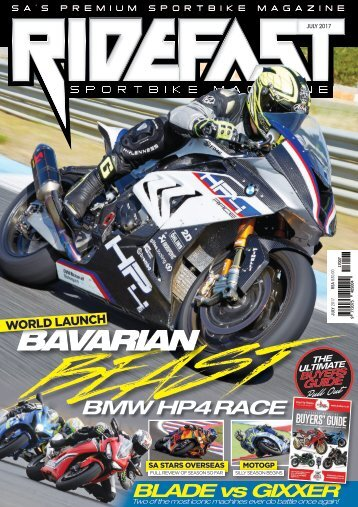 RideFast Magazine July 2017 issue