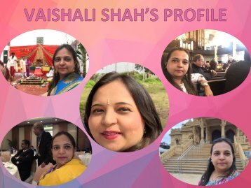 Vaishali Shah's Journey to the Land of Mahaprabhuji