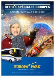 Brochure groupe hiver 2021/2022