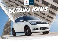 Suzuki Ignis modelbrochure